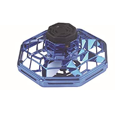 Betteros Flynova Toy The Most Tricked-Out Flying Spinner Athletic Antistress Hand Mini Stress Relief Gyro Rotation Drone UFO Led Fidget Finger Spinner Rotary Child Gift