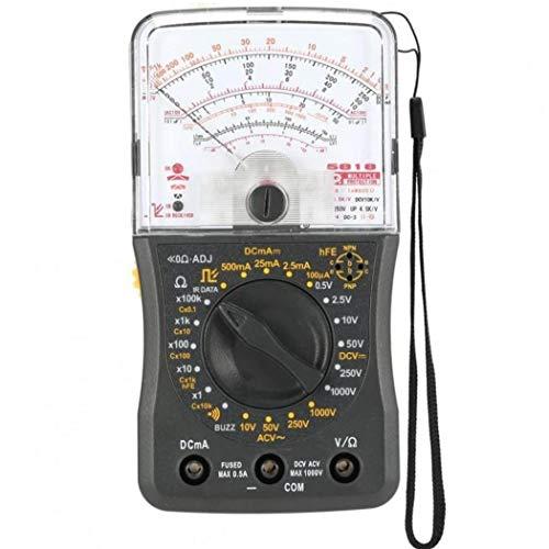 TOSSPER Mini Portátil Multímetro Analógico AC/DC del Amperímetro del Voltímetro Resistencia Continuidad De La Capacitancia De Fusibles Y Diodos Tester