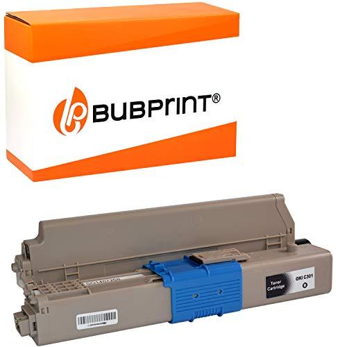 Bubprint Toner kompatibel für OKI C301 C301DN C321 C321DN MC332 MC332DN MC340 MC342 MC342DN MC342DNW - 44973536 2.200 Seiten Schwarz