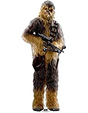 STAR CUTOUTS Star Wars Chewbacca (SW: TFA) cartón de tamaño Real Recortado