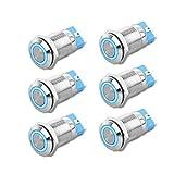 10 X 6x6x9.5 mm momentáneo Mini Push Button Táctil interruptor Pcb montado SPST