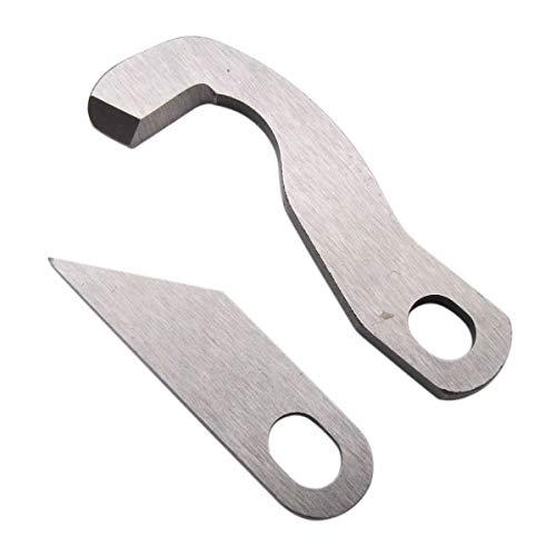ckpsms Marke - 1SET # XB1687001+XB1459-001 Oberes und unteres Messer Kompatibel mit Brother 3034D, 4234D, 4234DT, 5234PRW