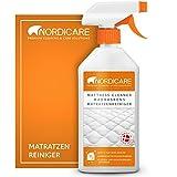 Nordicare 500ml Matratzenreiniger Spray für Matratze und Bettwäsche, Matratzen Reinigungsmittel, Bettreiniger, Matratzen Reiniger Geruchsentferner