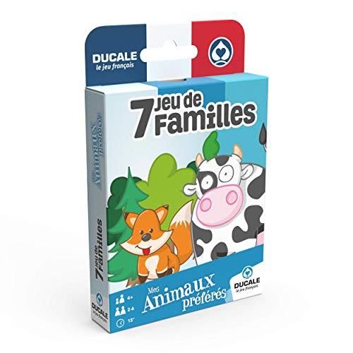 7 Familles Mes Animaux préférés - Jeu de cartes enfant - Ducale, le jeu français