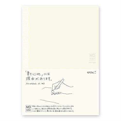 Midori MD Notizbuch, liniert, A5, 2 Stück
