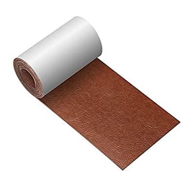 Leather Repair Tape 3X60 inch Patch Leather Adhesive for Sofas, Car Seats, Handbags, Jackets,First Aid Patch