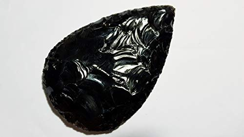Obsidian Corde de de poing 9 à 11 cm