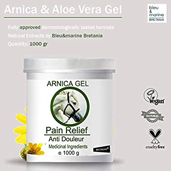 Gel d'Arnica 90% 100% Natural 1000 g - Animaux de Compagnie, Chevaux