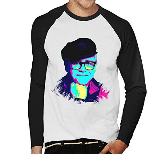 TV Times Elton John Smile Pop Art Stylised Men s Baseball Long Sleeved T-Shirt