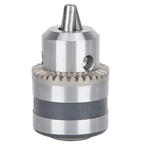 Portabrocas Taladro B12 Manual Tipo de clave portabrocas 110 mM rango de sujeción 40 de la forma cónica de acero montado en Perforar Chuck Adaptador de conversión 3 herramientas CNC plato de garras Ac