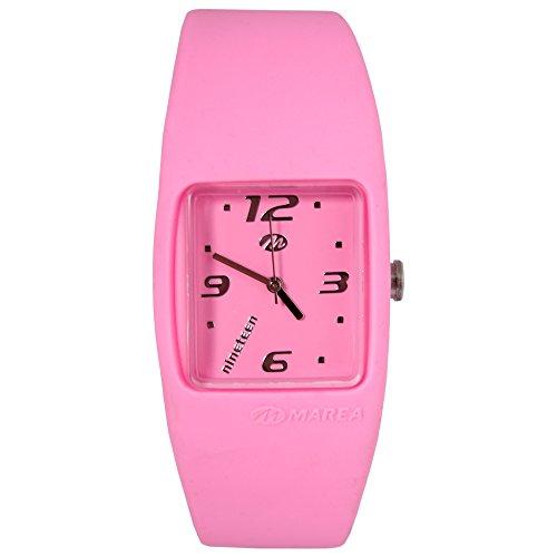 Marea Reloj de pulsera unisex de color rosa Nineteen de 18 cm.