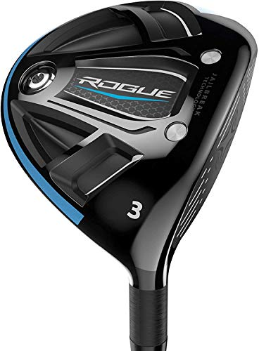 Callaway Golf 2020 Men's Rogue Fairway Wood, Right Hand, Alidila Synergy 2.0 60gr, Stiff Flex, 3 Wood , Black