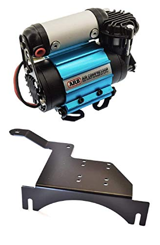 ARB CKMA12 Air Compressor High Output On-Board 12V Air Compressor and EVO EVO-1097 Large Air Compressor Mount Bundle