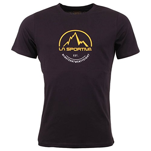 LA SPORTIVA Herren Logo Tee T-Shirt, Black, L