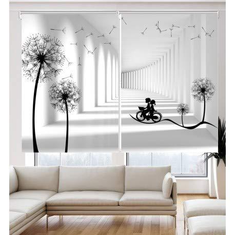 Estor Iroa Digital Doble Decorativos 3D-D005 ¡ESTORES ENROLLABLES TRANSLUCIDOS! (2 Unidades / 120X170)