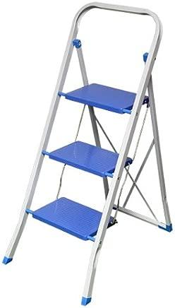 Kingfisher STEP3B Tier Folding Step Ladder White