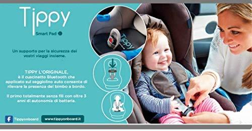 dispositivo anti abbandono gemellare Ricambi auto Dispositivo Anti-ABBANDONO DIGICOM Tippy Cuscino per Seggiolino Bluetooth