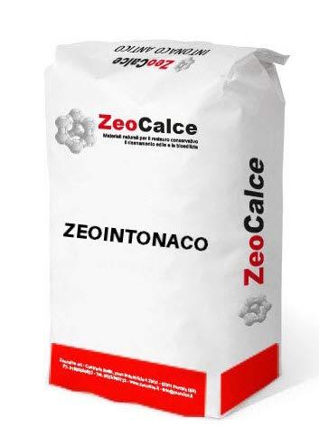ZEOINTONACO - Intonaco pozzolanico a base di legante FL in calce aerea e zeolite - bancali da 1500 kg (n° 60 sacchi da 25 kg)
