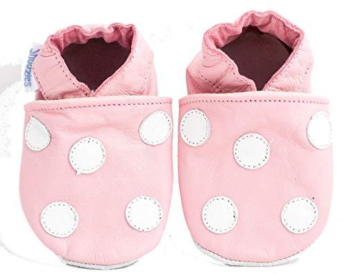 Shoozies , {Chaussures premiers pas pour bébé (garçon) rose rose 6-12 mois