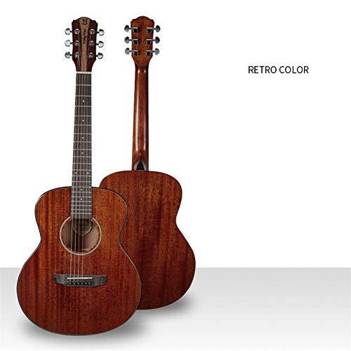 Ning Night 36-Zoll-Single-Gitarre Voll Peach Kern Positive Barrels Corner Fehlende Farbe Anfänger Eintrag Akustikgitarre Ultra Hohe Klangqualität,C1