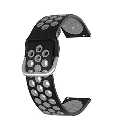 Correa de silicona deportiva ajustable para reloj Xiaomi-Mibro Air Correa de silicona para hombre Correa de silicona para mujer Correa de silicona para reloj Samsung