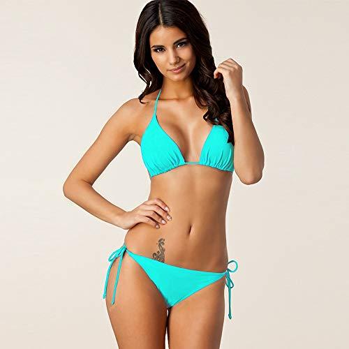 Damen Tanga Bikini Set String Badeanzug,H,M