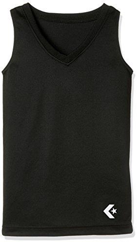 [コンバース] アンダーシャツ バスケット 試合/練習用 吸汗 速乾 トレーニング ガールズ ガールズゲームインナーシャツ CB482701 ブラック 130