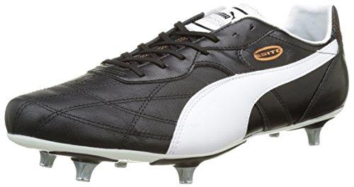 Puma Esito Classico SG, Herren Fußballschuhe, Schwarz (black-white-bronze 01), 41 EU (7.5 Herren UK)