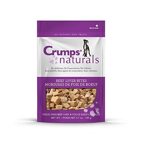 Crumps' Naturals Beef Liver Bites For Pets, 4.8-Ounce