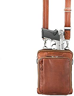 Gun Tote'n Mamas Concealed Carry Raven Shoulder Pouch, Tan, Small