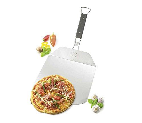 Küchenprofi BBQ Pizzaschaufel ALFREDO, Pizzaschieber,Edelstahl, mit klappbarem Griff