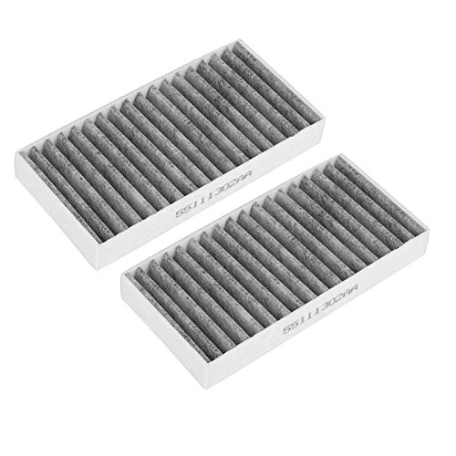 Filtro de aire del coche 2 piezas filtro de aire de la cabina del coche 55111302AA 68233626AA para 3.6L 2.8 3.8 3.6 V6