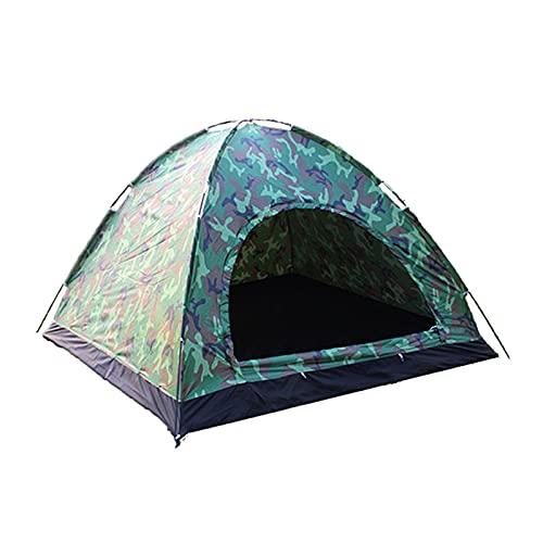 FITYLE Tienda de campaña para 3-4 Personas, Tienda emergente instantánea Refugio Solar Impermeable con Doble Cremallera, configuración rápida para la Familia