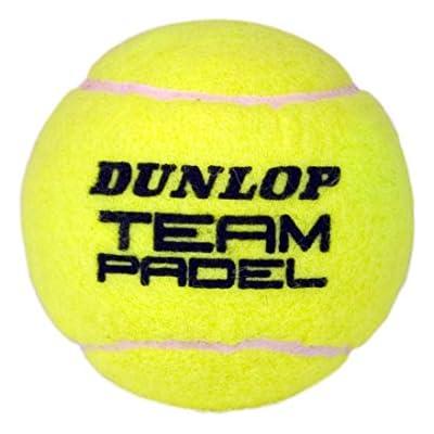 Dunlop 0503053 Pelotas en Bote, Unisex Adulto, Multicolor, 3 Unidades