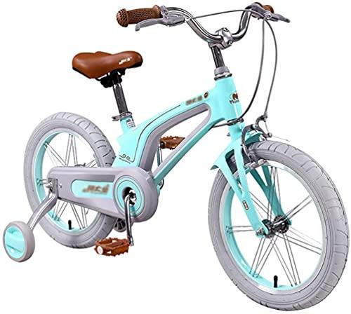 HGJINFANF Bicicletas para niños, Bicicletas, niños, Triciclo para niños, Adecuado para niños y niñas, niños de 3~15 años, Practicar Bicicleta Hermosa Bicicleta (Color : A, Size : 16inch)