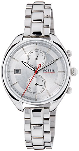 Fossil Women's CH2975 Land Racer Stainless Steel Watch with Link Bracelet