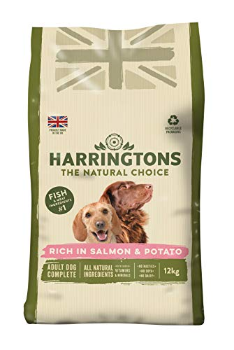 Harrington der Hund Futter komplett Trocken Mix ( salmon and potato )12 kg