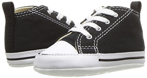 Converse, scarpe Chuck FIRST STAR HI, (Nero ), 19 M EU Art