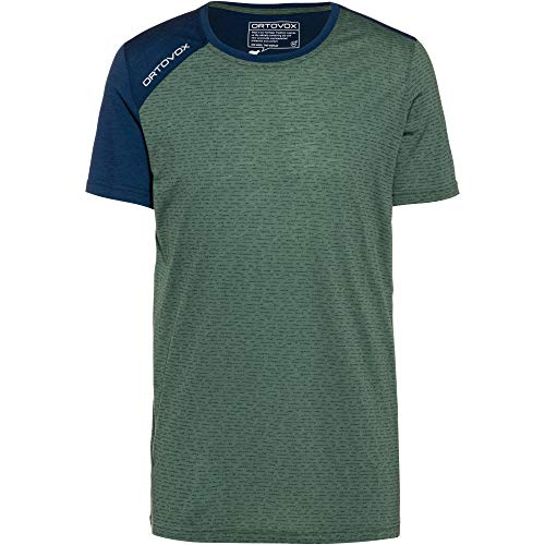 ORTOVOX Herren 120 Tec T-Shirt, Green Forest, L