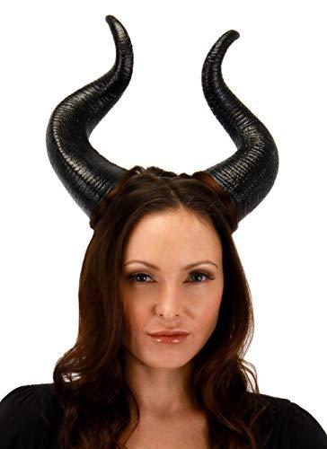 elope Disney Maleficent Deluxe Horns Black
