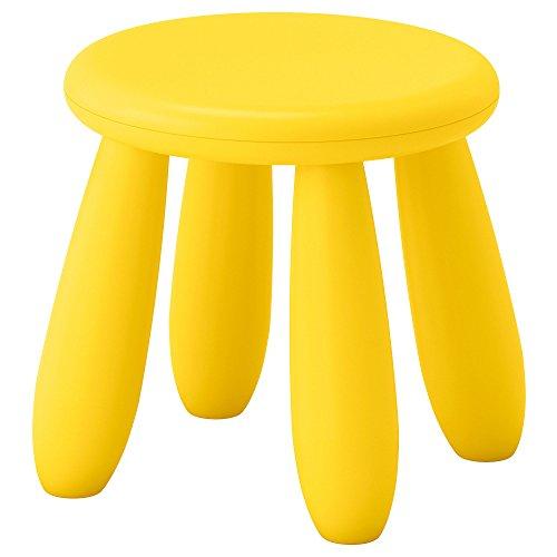 Mammut - Sgabello per bambini, in plastica, per interni ed esterni, età 3-6 anni, IKEA