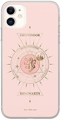 ERT GROUP Cover originale e ufficiale con licenza Harry Potter per iPhone 11, cover in plastica TPU silicone per proteggere da urti e graffi, multicolore