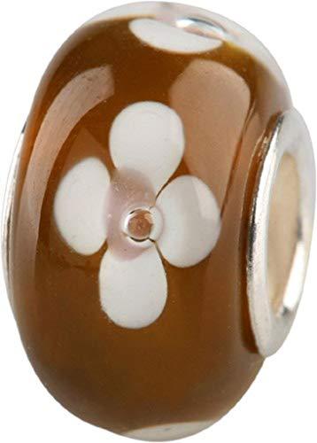 Marcas para mujer Charlot prestarte Bead Beads de gotas de cristal de plata núcleo GPS-03Braun