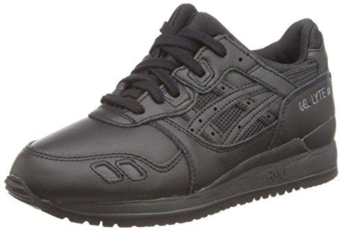 ASICS Gel-Lyte III, Unisex-Erwachsene Sneakers, Schwarz (black/black 9090), 37 EU (4.5 UK)