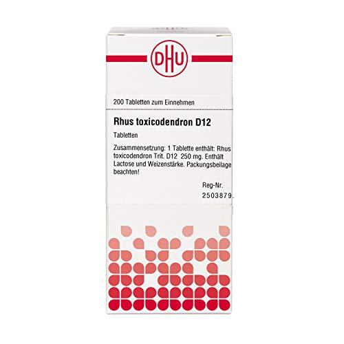 DHU Rhus toxicodendron D12 Tabletten, 200 St. Tabletten