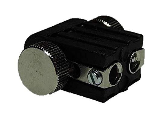 Lichtidee 8 x Led Lampenfassung Lampenhalter für Stabspot für GX5,3 12 Volt Led oder Halogen Seilspots Seilsystem