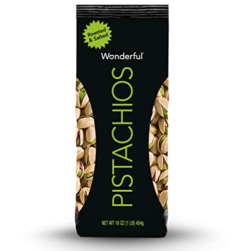 Wonderful Pistachios, Roasted and Salted, 16 Ounce Bag