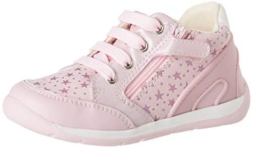 Geox Baby Mädchen B Each Girl C Sneaker, Pink (Pink C8004), 19 EU