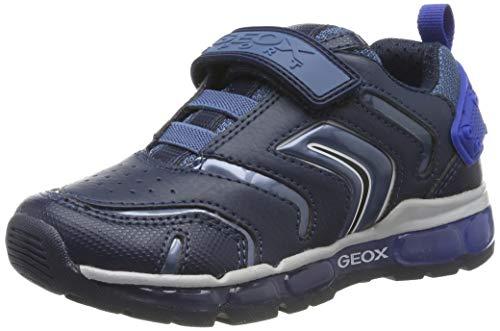 Geox J Android Boy B, Zapatillas Niños, Azul (Navy/Royal C4226), 24 EU