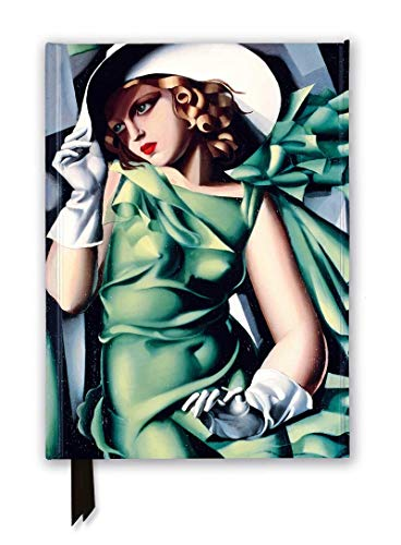 Tamara De Lempicka: Young Lady With Gloves, 1930 Foiled Journal